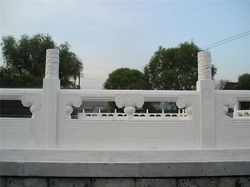 漢白玉欄板雕刻