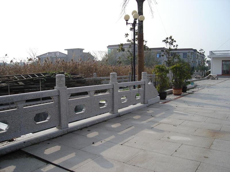 青石欄桿欄板