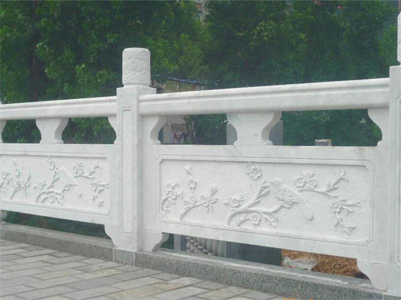 石雕漢白玉欄板