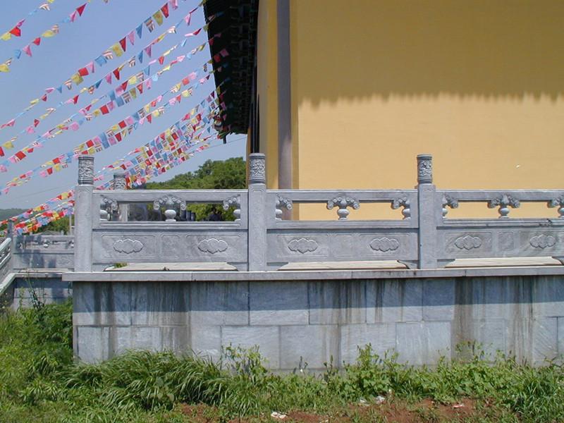 石頭柵欄欄板