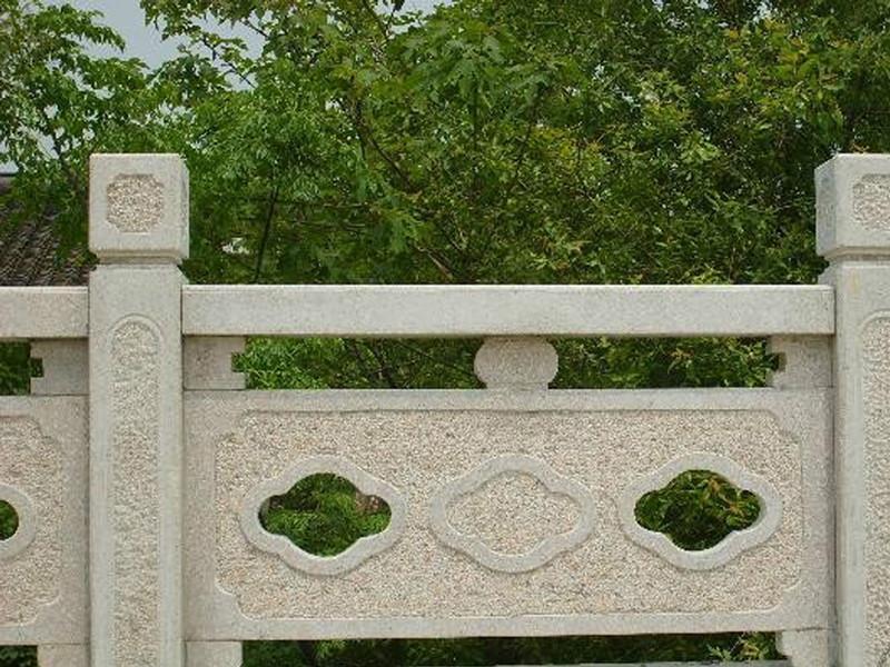 石雕欄板八寶