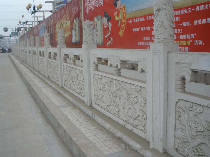 青石欄板龍圖案系列