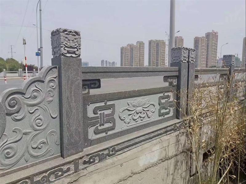石雕欄板欄桿