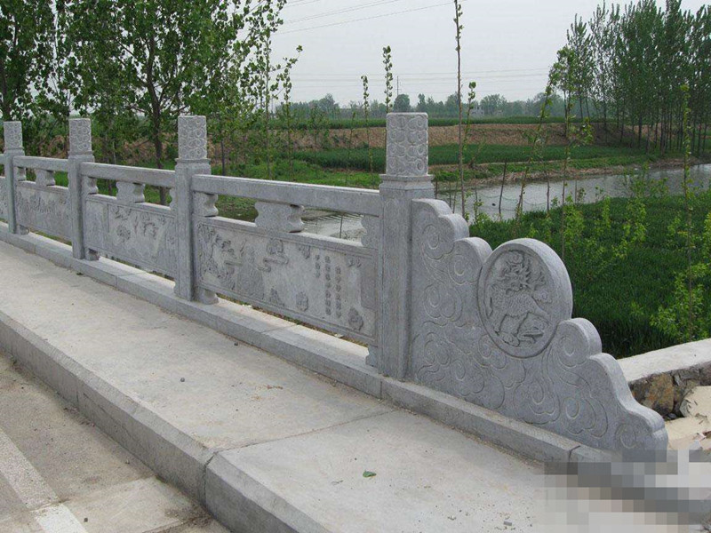 草白玉石欄桿欄板