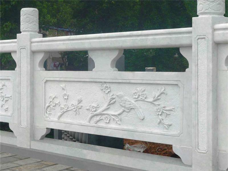 青石欄板雕刻圖案花系列