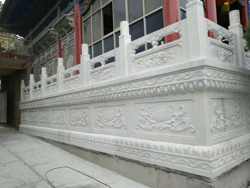 石材浮雕欄板
