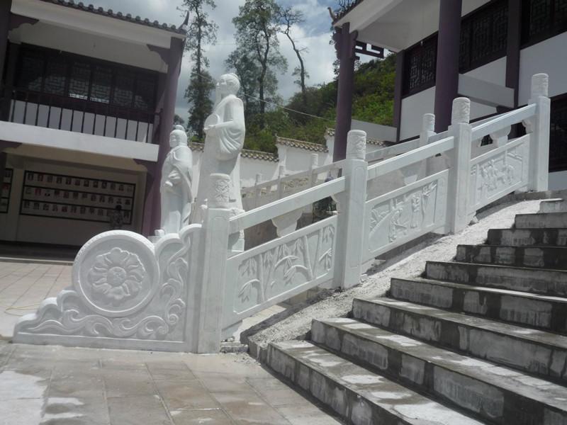 石雕斜欄板